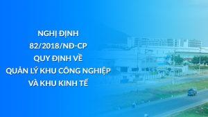 Nghị định 82/2018/NĐ-CP quy định về quản lý khu CN và khu kinh tế